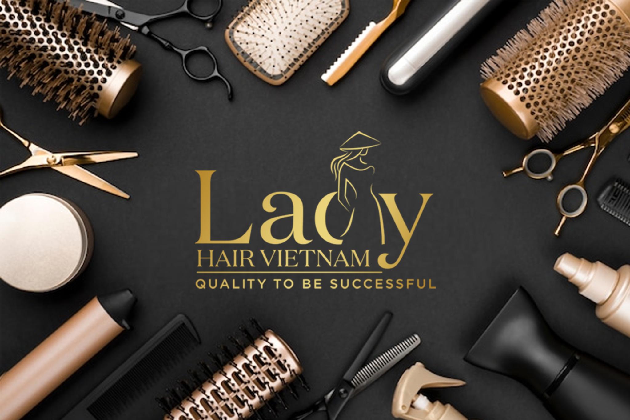 THIẾT KẾ NHẬN DIỆN LADY HAIR