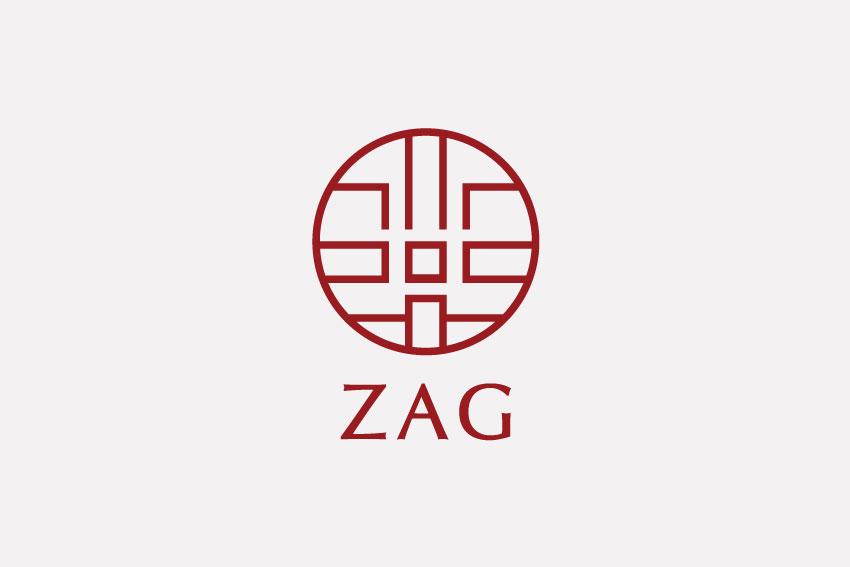 THIẾT KẾ LOGO NỘI THẤT ZAG