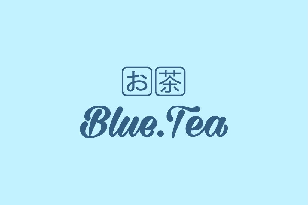 THIẾT KẾ LOGO NƯỚC UỐNG BLUE TEA