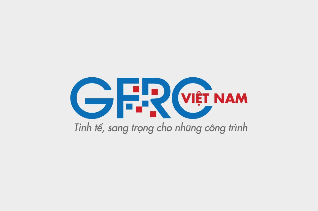 THIẾT KẾ LOGO KINH DOANH VẬT LIỆU XÂY DỰNG GFRC VIỆT NAM