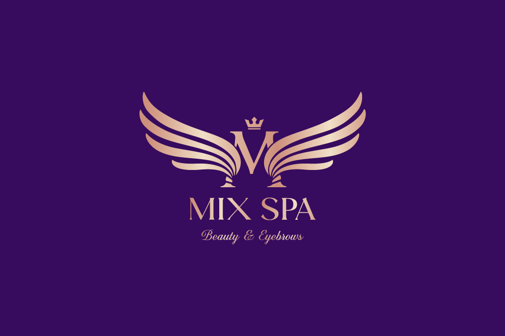 THIẾT KẾ LOGO MIX EYEBROWS SPA & BEAUTY