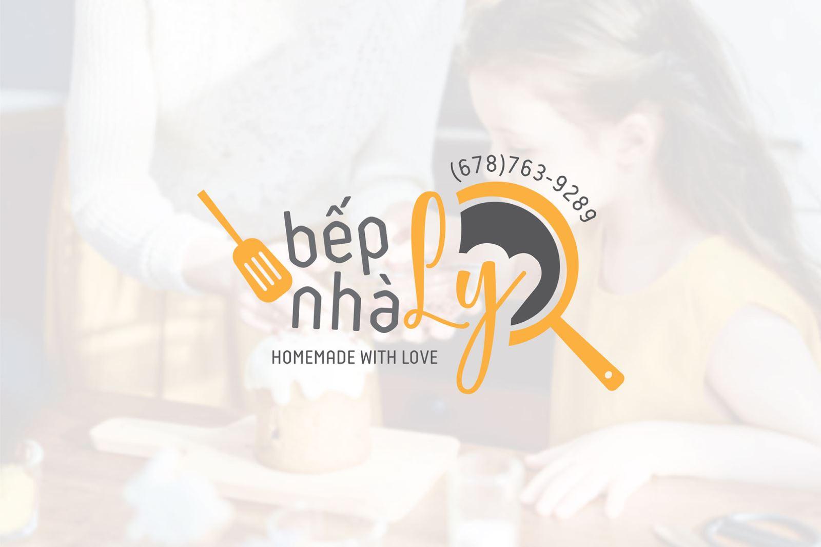 Thiết kế logo Bếp nhà ly
