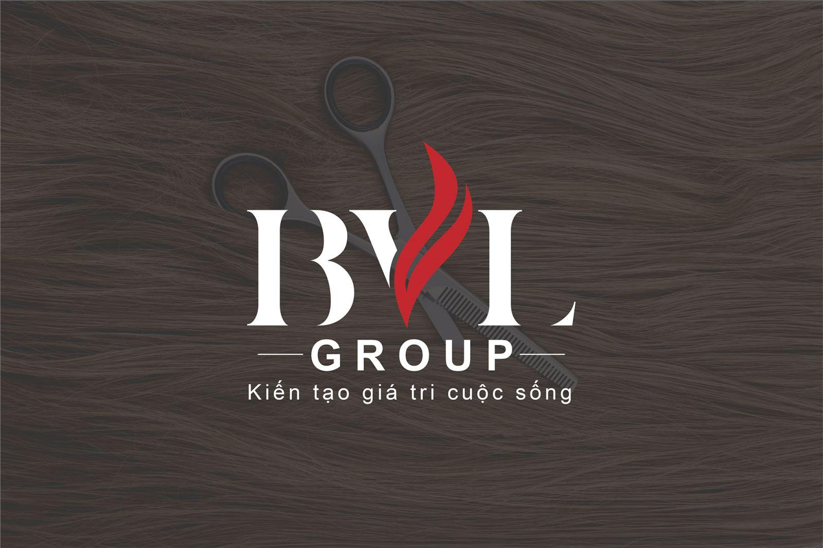 Thiết kế logo cho mỹ phẩm tóc BVL Group