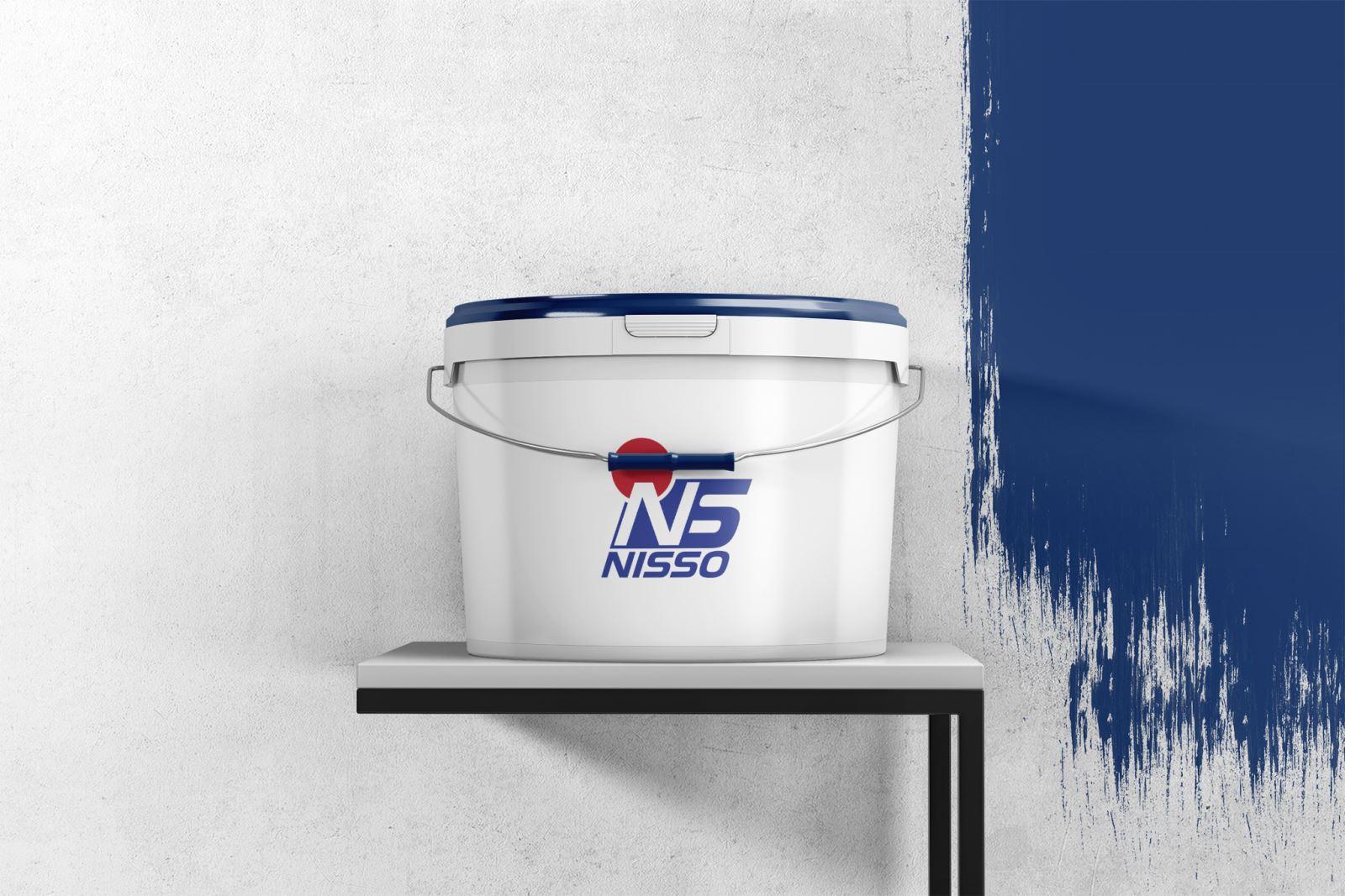 Thiết kế logo thương hiệu sản xuất sơn Nisso
