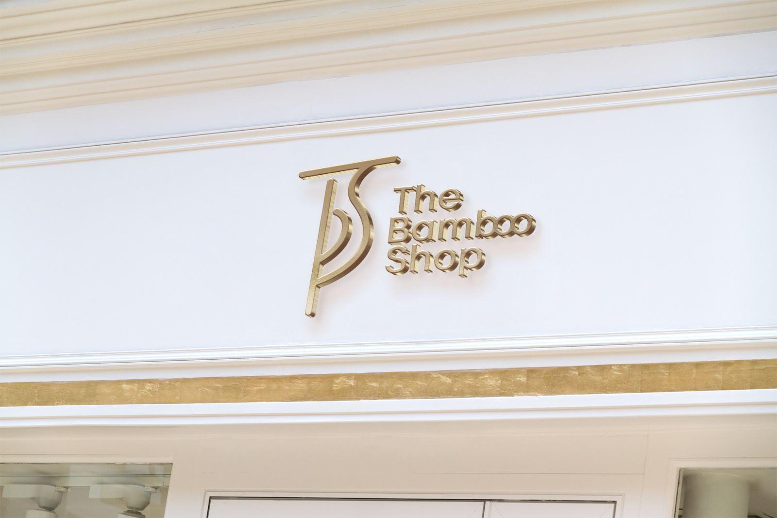 Thiết kế logo kính mát The Bamboo Shop