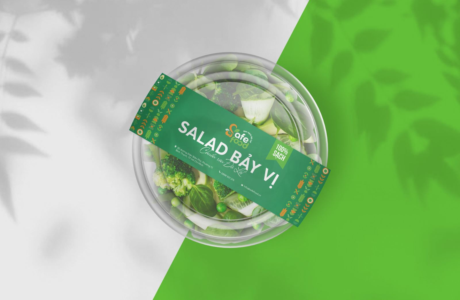 thiết kế logo nông nghiệp safe food